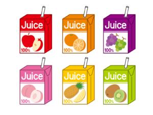 ジュース(紙パック入り)の賞味期限