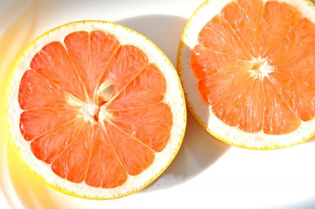グレープフルーツを冷蔵庫で保存