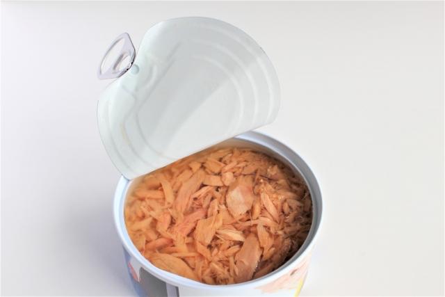 ツナ缶開封後冷蔵庫保存