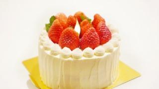 デコレーションケーキは冷蔵庫に保存