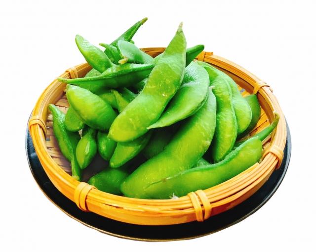 枝豆を冷蔵庫で保存